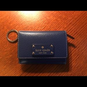 Kate Spade key chain & card holder